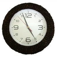 Часы объемные из кофейных зерен